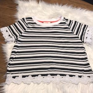 Black and white GB girl shirt size large